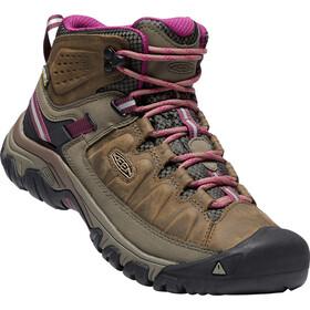 Keen W's Targhee III Mid WP Shoes Weiss/Boysenberry